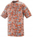 Digi Camo Wicking Two-Button Jersey Style Number 10015