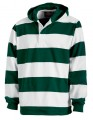 Hooded Rugby Pullover 161946