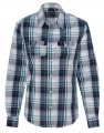 Burnside Womens Long Sleeve Plaid Shirt 162037