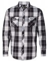 Burnside Long Sleeve Plaid Shirt 162036