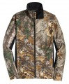 Mens Camouflage Colorblock Soft Shell Jacket 161390