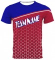 Custom Sublimated Crew Neck Tee 10018