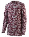 Digi Camo Wicking Long Sleeve T Shirt 160011